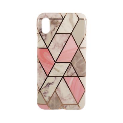 Futrola Geometric Marble za iPhone XR model 3