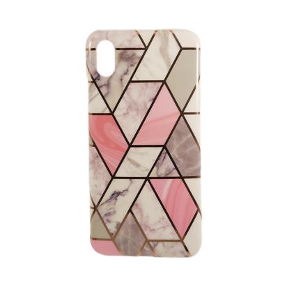 Futrola Geometric Marble za iPhone XS MAX model 3
