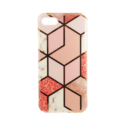 Futrola Geometric Marble za iPhone 7 Plus/8 Plus model 1