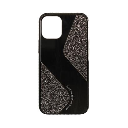 Futrola Mirror Glitter za Iphone 12 Mini 5.4 inch crna
