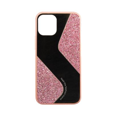 Futrola Mirror Glitter za Iphone 12 Mini 5.4 inch roza