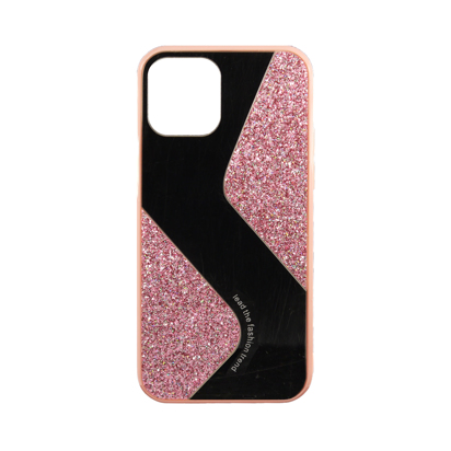 Futrola Mirror Glitter za iPhone 12 / 12 Pro 6.1 inch roza