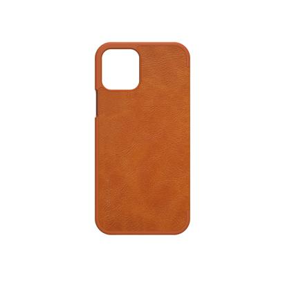 Futrola Nillkin Qin Leather za iPhone 12 / 12 Pro 6.1 inch braon