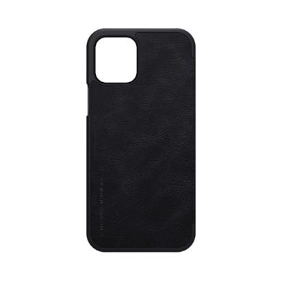 Futrola Nillkin Qin Leather za iPhone 12 / 12 Pro 6.1 inch crna