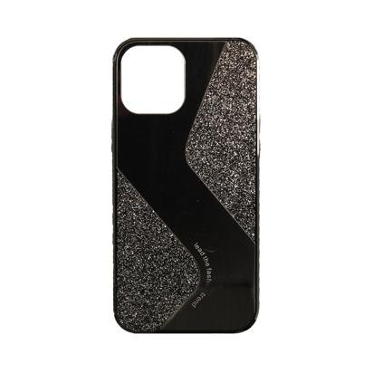 Futrola Mirror Glitter za Iphone 12 Pro Max 6.7 inch crna