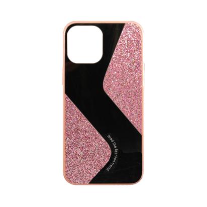 Futrola Mirror Glitter za Iphone 12 Pro Max 6.7 inch roza