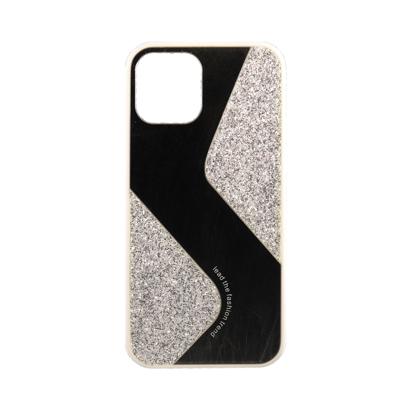 Futrola Mirror Glitter za Iphone 12 Pro Max 6.7 inch srebrna