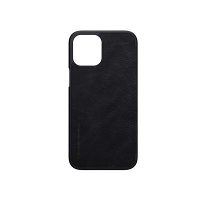 Futrola Nillkin Qin Leather za Iphone 12 Pro Max 6.7 inch crna