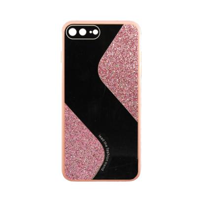 Futrola Mirror Glitter za iPhone 7 Plus/8 Plus roza
