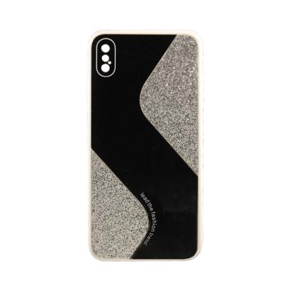 Futrola Mirror Glitter za iPhone XS MAX srebrna