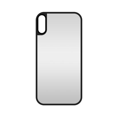 Futrola Glass Mirror za iPhone XS MAX srebrna