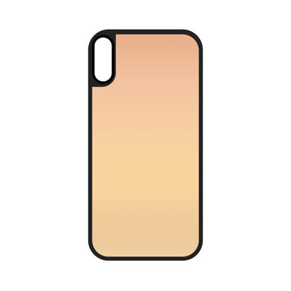 Futrola Glass Mirror za iPhone XS MAX roze zlatna