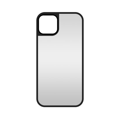 Futrola Glass Mirror za Iphone 12 / 12 Pro 6.1 Inch srebrna