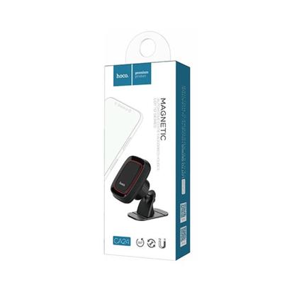 Drzac za mobilni sa magnetom HOCO CA24 Lotto crni
