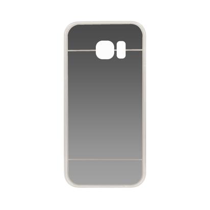 Futrola silikonska Mirror za Samsung G920F Galaxy S6 Srebrna