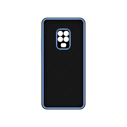 Futrola Silicone Protective za Xiaomi Redmi Note 9S / Note 9 Pro / Note 9 Pro Max plava