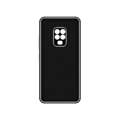 Futrola Silicone Protective za Xiaomi Redmi Note 9S / Note 9 Pro / Note 9 Pro Max siva