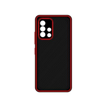 Futrola Silicone Protective za Samsung A715F Galaxy A71 crvena
