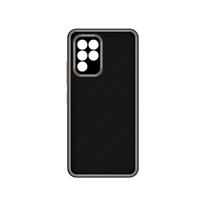 Futrola Silicone Protective za Samsung A426F Galaxy A42 5G siva