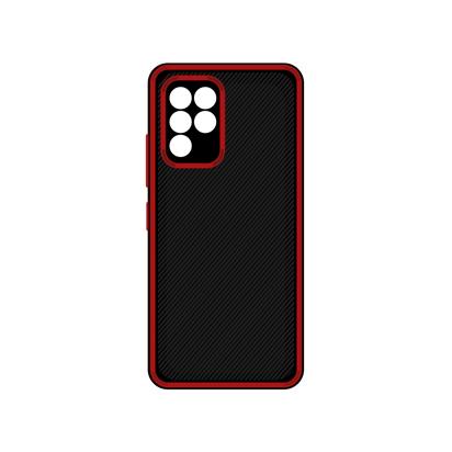 Futrola Silicone Protective za Samsung A426F Galaxy A42 5G crvena