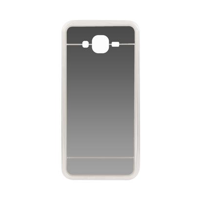 Futrola silikonska Mirror za Samsung J700F Galaxy J7 Srebrna