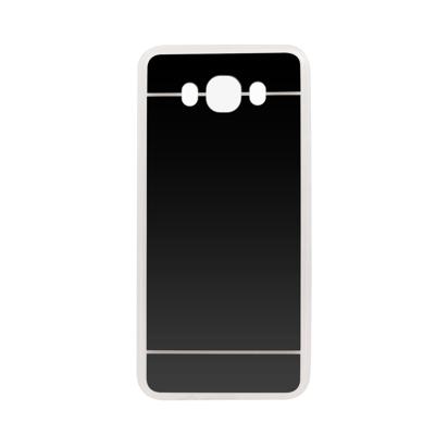 Futrola silikonska Mirror za Samsung J700F Galaxy J7 Siva