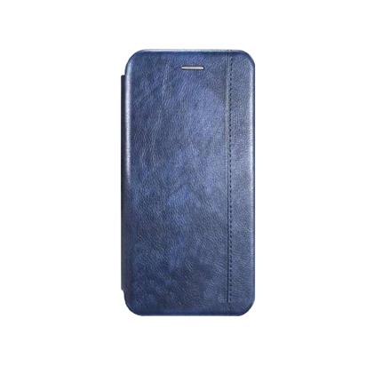 Futrola Leather Protection za Huawei P30 Lite/Nova 4E plava