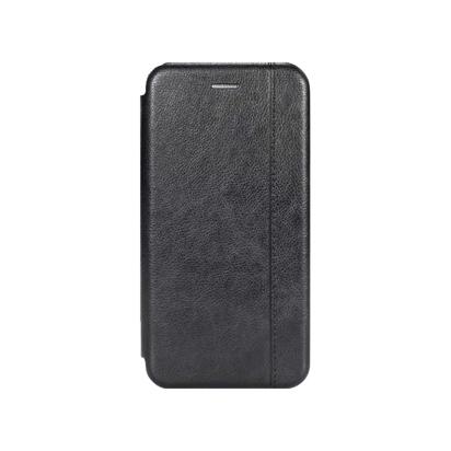 Futrola Leather Protection za Huawei P40 Lite E crna
