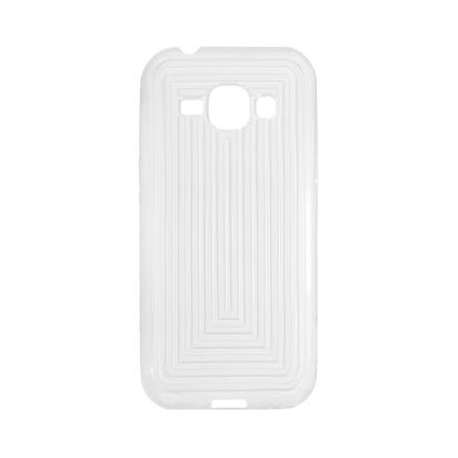Futrola CUBE za Samsung J100F Galaxy J1 Bela