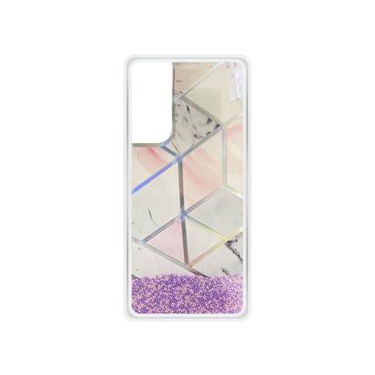 Futrola Geometric Fluid za Huawei P Smart 2021 roza