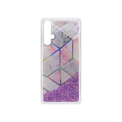 Futrola Geometric Fluid za Huawei Honor 20 / Nova 5T / Honor 20S roza