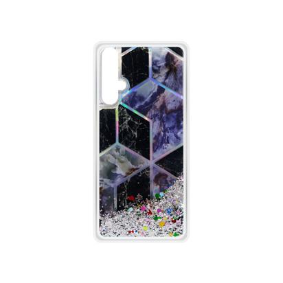 Futrola Geometric Fluid za Huawei Honor 20 / Nova 5T / Honor 20S srebrna