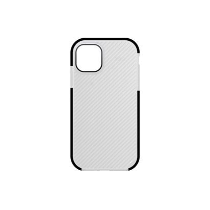 Futrola Carbon Transparent za iPhone 12 Pro Max 6.7 inch crna