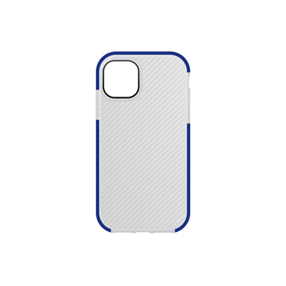 Futrola Carbon Transparent za iPhone 12 Pro Max 6.7 inch plava