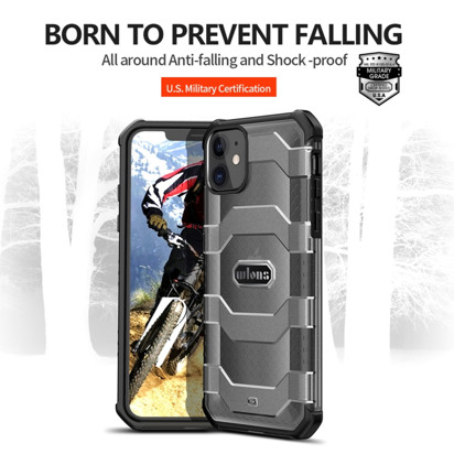 Futrola Wlons Shockproof za iPhone 12 Mini 5.4 inch crna