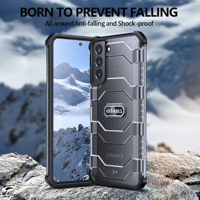 Futrola Wlons Shockproof za Samsung G990F Galaxy S21 / S30 crna