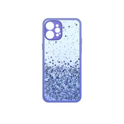 Futrola Sparkly za iPhone 12 Pro Max 6.7 inch ljubicasta