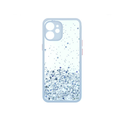 Futrola Sparkly za iPhone 12 Mini 5.4 inch bela