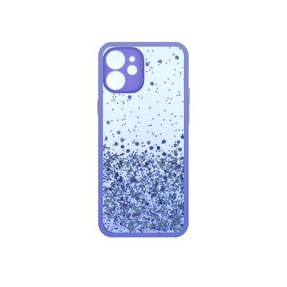 Futrola Sparkly za iPhone 12 Mini 5.4 inch ljubicasta