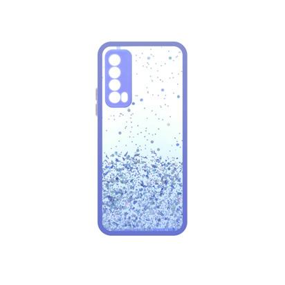 Futrola Sparkly za Huawei P Smart 2021 ljubicasta