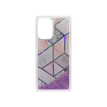 Futrola Geometric Fluid za Samsung Galaxy A726B/A72 5G/A726F/A72 roza