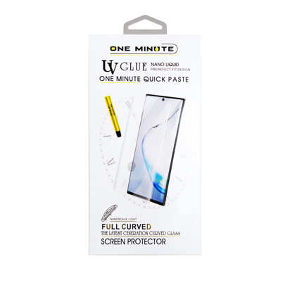 Staklena folija (UV Glue Full Cover+Lampa) za Samsung G990F Galaxy S21 / S30