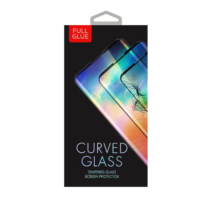 Staklena folija (glass 5D Full Glue) za Xiaomi Mi 11 Lite / Mi 11 Lite 5G Black
