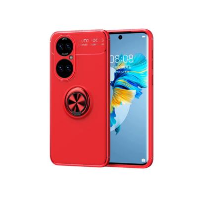 Futrola Auto Focus Ring za Samsung A226B Galaxy A22 5G crvena