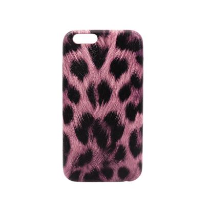 Futrola Silikon Leopard Roza za iPhone 6G/6S