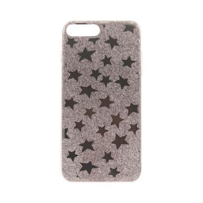Futrola silikonska STAR za iPhone 7 Plus/8 Plus srebrna