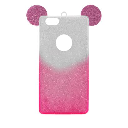 Futrola SHOW YOURSELF EARS za Iphone 6G/6S srebrno-roze
