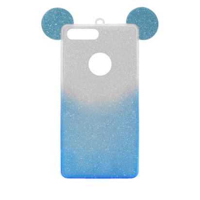 Futrola SHOW YOURSELF EARS za iPhone 7 Plus/8 Plus srebrno-plava
