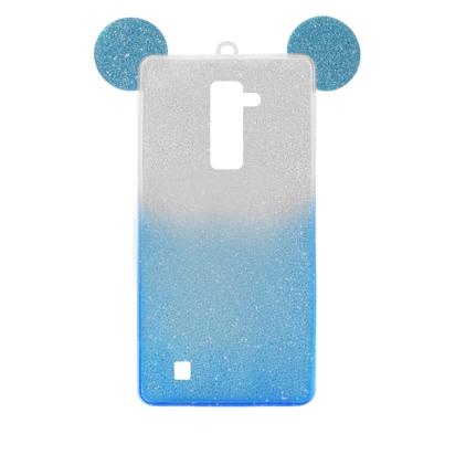 Futrola SHOW YOURSELF EARS za LG K10 srebrno-plava