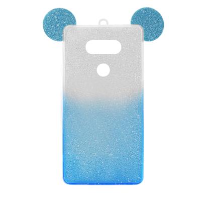 Futrola SHOW YOURSELF EARS za LG G5 H850 srebrno-plava